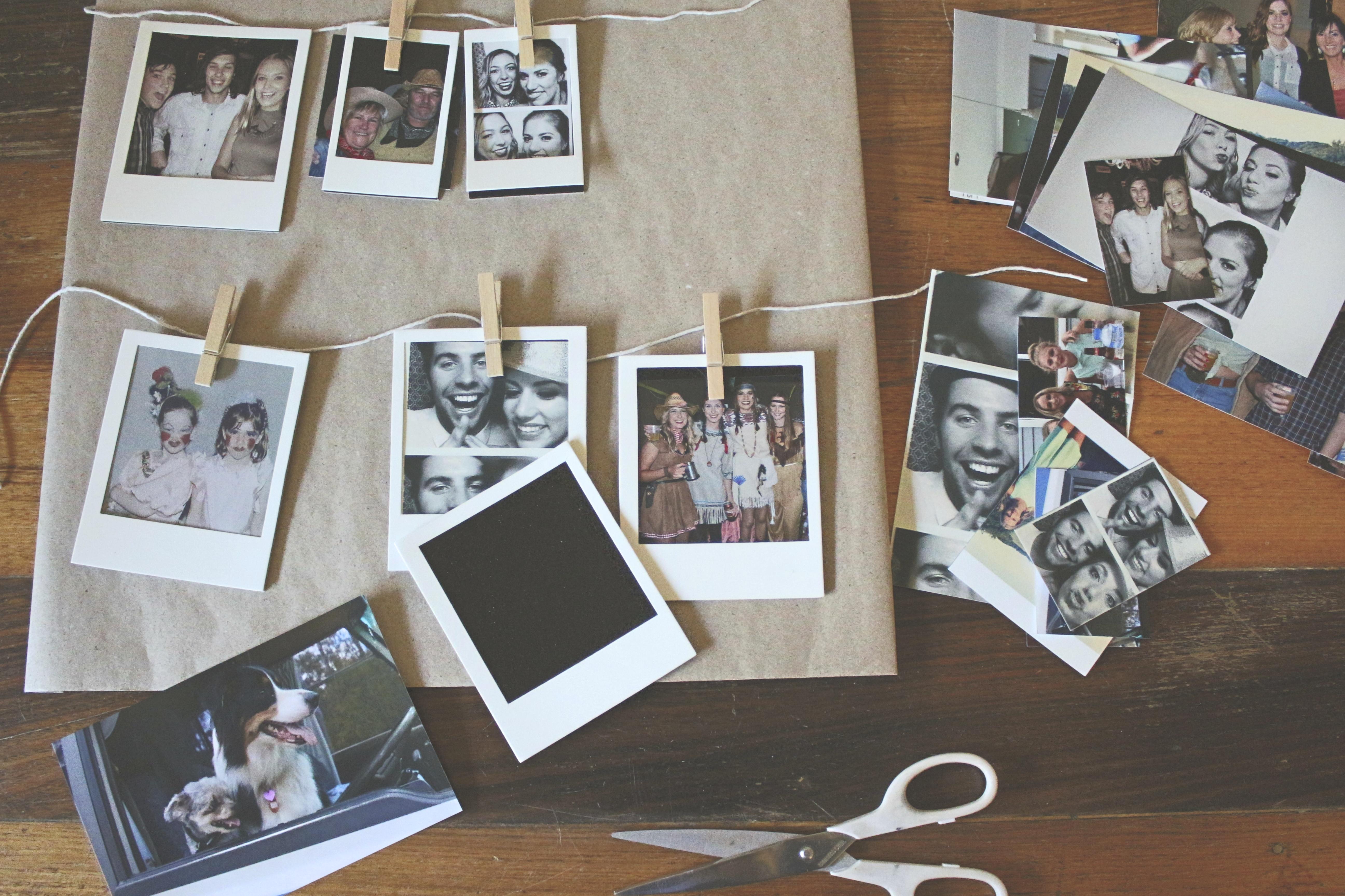 Как сделать фото в стиле полароида
